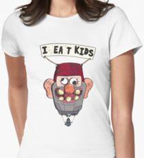 gravity falls i eat kids balloon  Womens Fitted T-Shirt