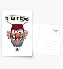 gravity falls i eat kids balloon  Postcards