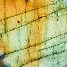 Labradorit Kristall Edelstein Makro von MMPhotographyUK
