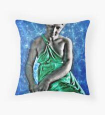 Sinann (Irish), goddess of the River Shannon Throw Pillow