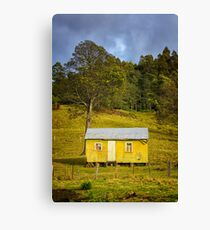 Kaoota Farm Hut, Tasmania Canvas Print
