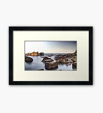 Mystic Rock Pools 1 Framed Print