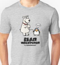 The Bear Whisperer - Penguin vs Polar Bear T-Shirt