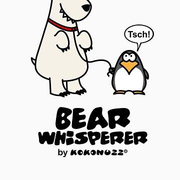 The Bear Whisperer - Penguin vs Polar Bear by Kokonuzz