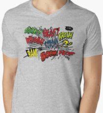 COMICS SPEAK T SHIRT Mens V-Neck T-Shirt