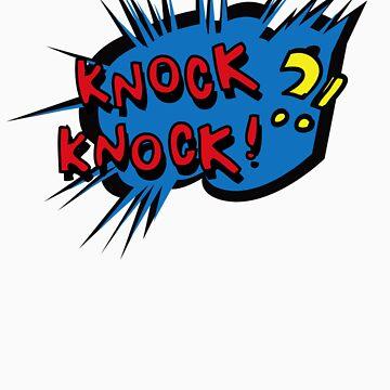 KNOCK KNOCK T SHIRT by GeekShirtsHQ
