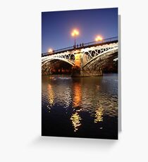 Triana Greeting Card