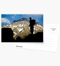 The climber II Postcards