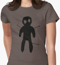 SCARY ACUPUNCTURE T SHIRT Womens Fitted T-Shirt