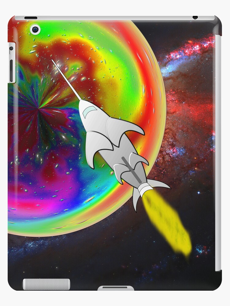 Inner Orbiter in the Spiral Galaxy iPad/iPhone/iPod cases by Dennis Melling