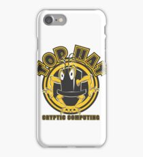 TOP HAT  Cryptic Computing iPhone Case/Skin