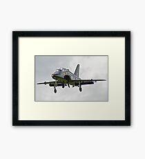 BAE Systems Hawk Final Approach Framed Print