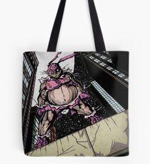 The Pink Bunny Saves Tote Bag