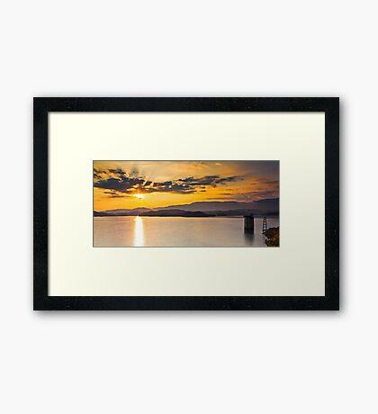 Holston Sunrise Framed Print