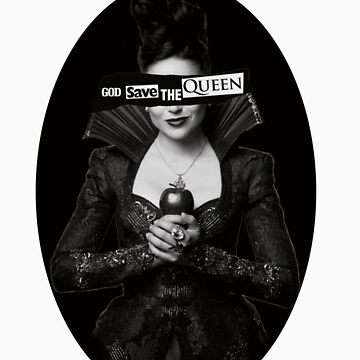 God Save the Evil Queen by bippitybovvity