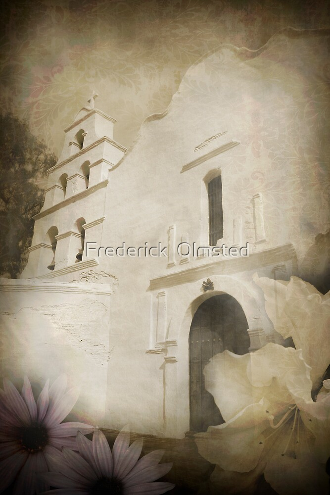 San Diego Mission by Frederick  Olmsted