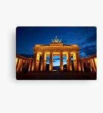 Berlin, Brandenburger Tor Canvas Print