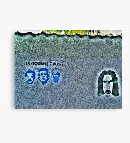 The Secret Zappa Fans Canvas Print