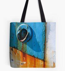 Square circle Tote Bag