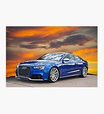 2013 Audi RS5 Photographic Print