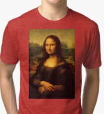 Mona Lisa HD Tri-blend T-Shirt