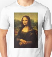 Camiseta unisex Mona Lisa HD