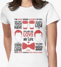 Kurt & Blaine Women's Fitted T-Shirt