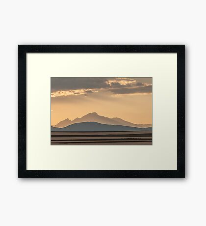 Sunset Music On The Colorado Plains Framed Print