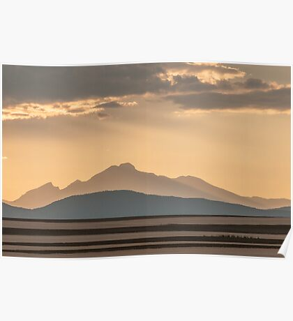 Sunset Music On The Colorado Plains Poster
