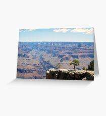 Canyon Ravine Greeting Card