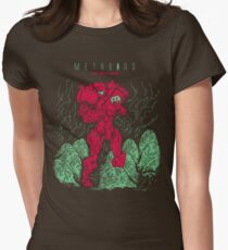 Metroids Womens Fitted T-Shirt