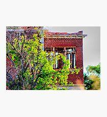 Woodmen Circle Home, Sherman, Texas Photographic Print
