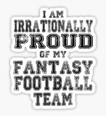 Fantasy Football Sticker