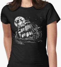 the kraken Women's Fitted T-Shirt