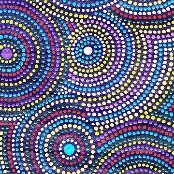 denthe dot circles case by denthe