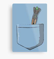 Sonic screwdriver Metal Print