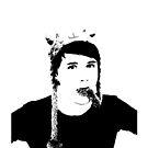 Schwarz-Weiß-Dan Howell von musicalphan