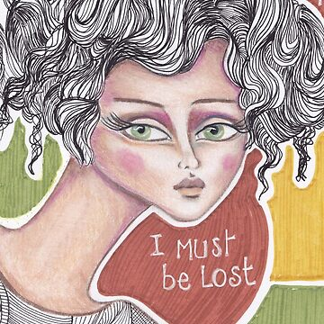 denthe girl I must be lost case by denthe