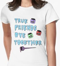 Dye Together Womens Fitted T-Shirt