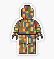 LegoLove Building Blocks Sticker