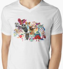 Owls collage T-Shirt
