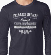 Sherlock Holmes Ad -Light- Long Sleeve T-Shirt