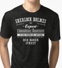 Sherlock Holmes Ad -Light- Tri-blend T-Shirt