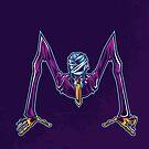 M is for Mummified Slender Man by strangethingsA