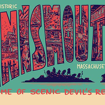 Visit Historic Innsmouth by schweizercomics