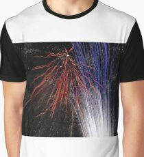 Night light sparkles a colourful delight Graphic T-Shirt