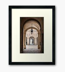 Archways Framed Print