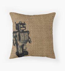 Automaton Throw Pillow