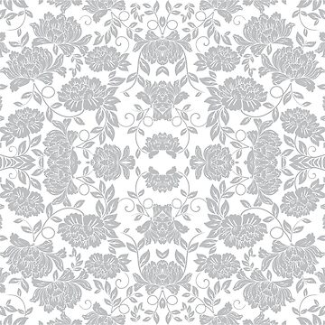 Wild Roses Pattern by titanb00ty