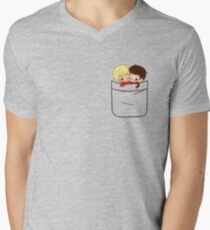 Pocket Merthur Men's V-Neck T-Shirt